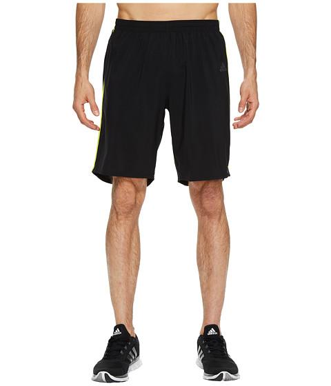 Imbracaminte Barbati adidas Response 9quot Shorts BlackSemi Solar Yellow