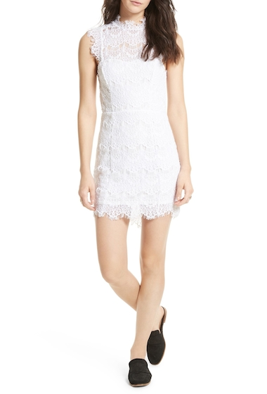 Imbracaminte Femei Free People Daydream Lace Minidress WHITE