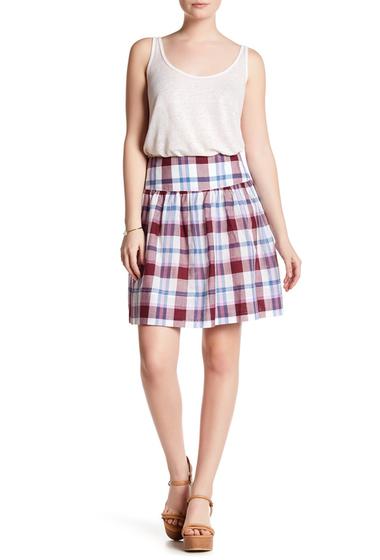 Imbracaminte Femei Joe Fresh Plaid Mini Skirt PURPLE
