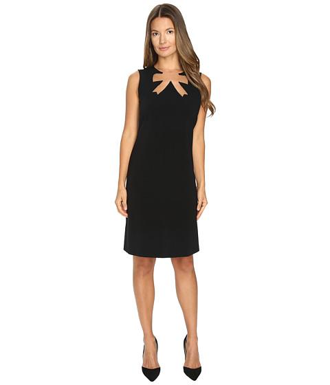 Imbracaminte Femei Boutique Moschino Gold Love Necklace Dress Black