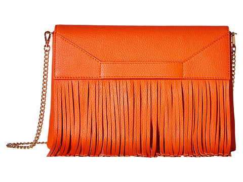 Genti Femei Boutique Moschino Fringes Shoulder Bag Red 0041