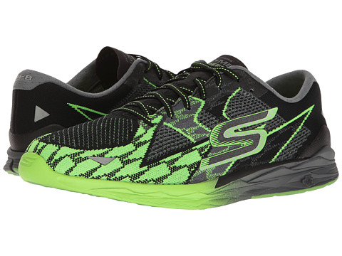 Incaltaminte Barbati SKECHERS Go Meb Speed 4 BlackGreen