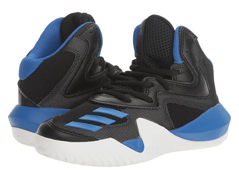 Incaltaminte Baieti adidas Crazy Team Basketball (Little KidBig Kid) Core BlackBlueUtility Grey