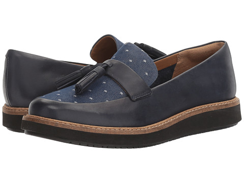 Incaltaminte Femei Clarks Glick Castine Navy Leather