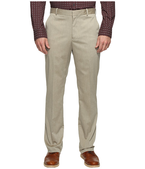 Imbracaminte Barbati Perry Ellis Regular Fit Stretch Heather Twill Dress Pants Natural Linen