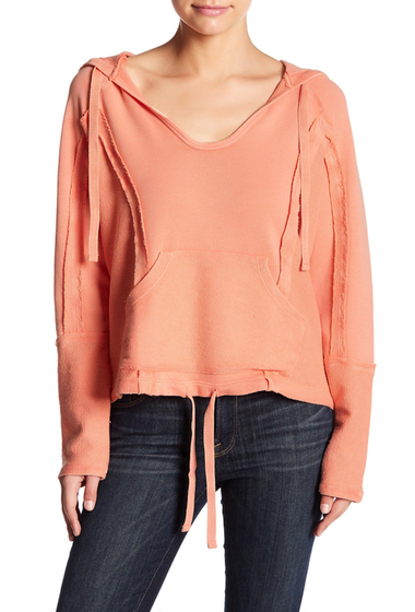 Imbracaminte Femei Melrose and Market Solid Terry Sweatshirt CORAL TERRA