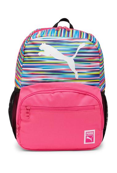 Genti Femei PUMA Cyclone JR Backpack PINKMULTI