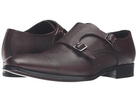 Incaltaminte Barbati Too Boot New York Grant Brown Pebbled Leather