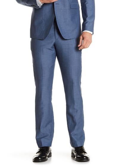 Imbracaminte Barbati Original Penguin Houndstooth Pant - 30-34 Inseam BLUE NEAT