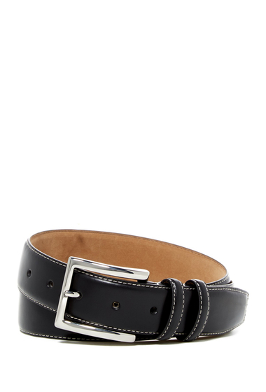 Accesorii Barbati Cole Haan Feathered Edge Leather Belt BLACK