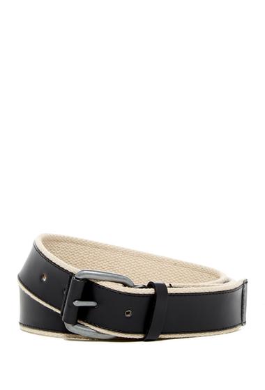 Accesorii Barbati Cole Haan Leather Webbing Belt BLACK