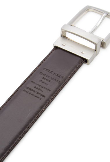 Accesorii Barbati Cole Haan Reversible Leather Belt CHESTNUT