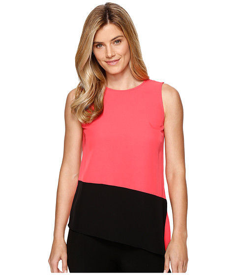 Imbracaminte Femei Calvin Klein Sleeveless Top with Angle Bottom Watermelon