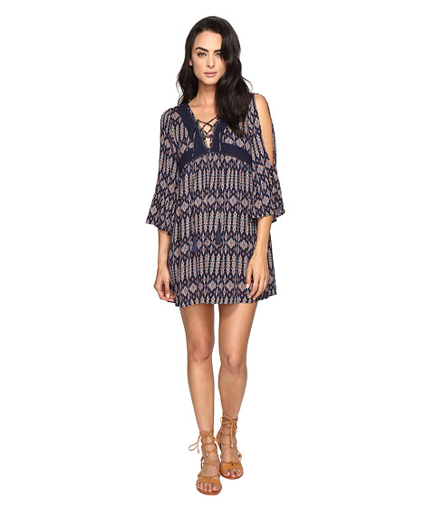 Imbracaminte Femei Brigitte Bailey Sharmela Long Sleeve Dress with Tassels Navy