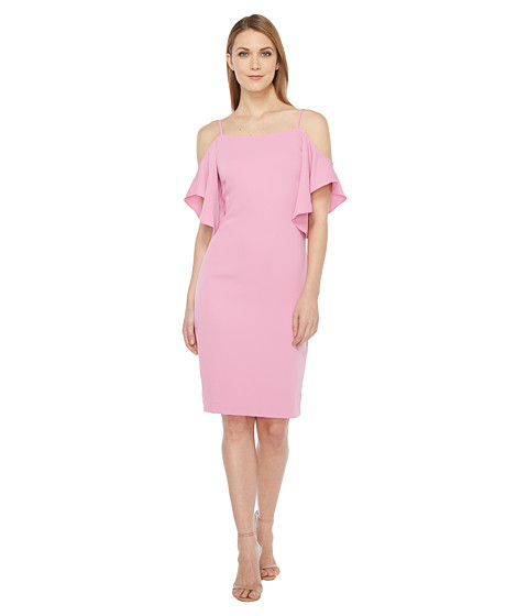 Imbracaminte Femei Laundry by Shelli Segal Off the Shoulder w Flutter Sleeve Cocktail Dress Crocus