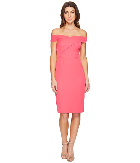 Imbracaminte Femei Laundry by Shelli Segal Off the Shoulder Cocktail Dress Raspberry
