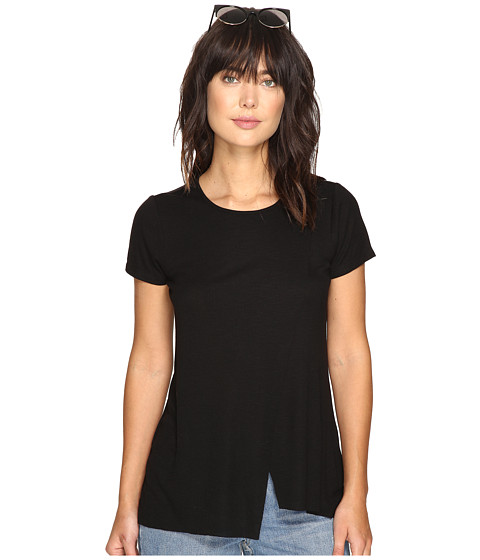 Imbracaminte Femei kensie Slubby Rib Jersey Top KS3K3578 Black