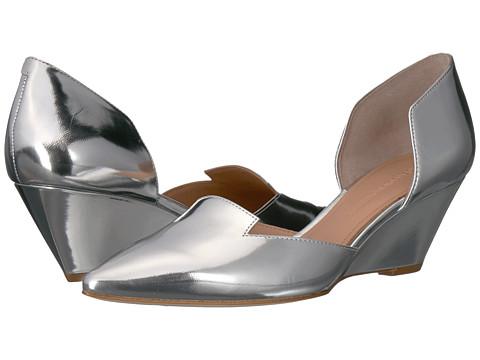 Incaltaminte Femei Sigerson Morrison Wenda Silver Specchio Mirror Leather