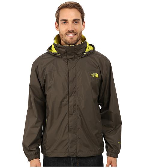 Imbracaminte Barbati The North Face Resolve Jacket Black Ink Green