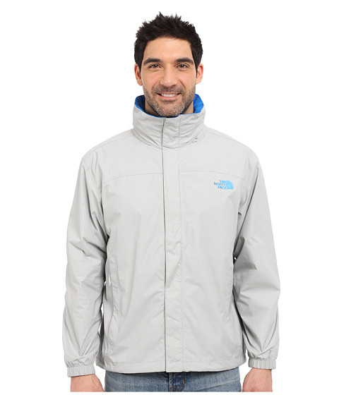 Imbracaminte Barbati The North Face Resolve Jacket High Rise GreyBomber Blue