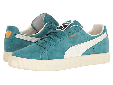 Incaltaminte Barbati PUMA Clyde Premium Core Harbor BlueWhisper White