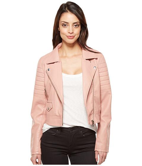 Imbracaminte Femei Blank NYC Vegan Leather Moto Jacket in Pretty In Pink Pretty In Pink