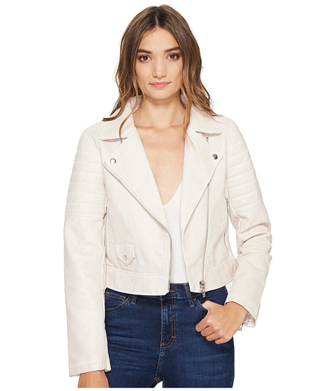 Imbracaminte Femei Blank NYC Vegan Leather Moto Jacket in Gum Drop Gum Drop