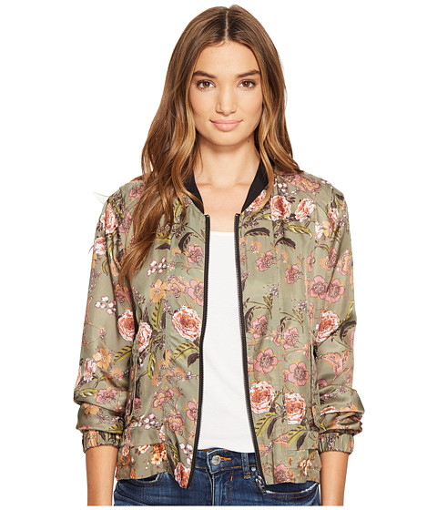 Imbracaminte Femei Blank NYC Printed Bomber in Sun Chaser Sun Chaser