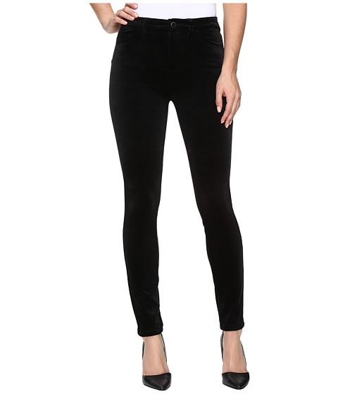 Imbracaminte Femei Blank NYC Velvet Black High-Rise Skinny in The New Black The New Black