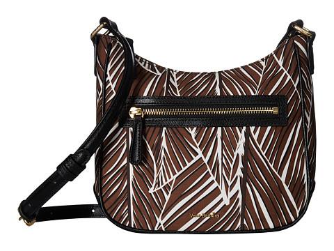 Genti Femei Vera Bradley Mini Vivian Crossbody Banana Leaves Brown
