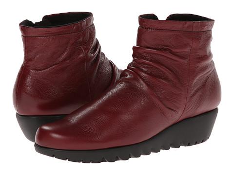 Incaltaminte Femei Munro American Riley Red Leather