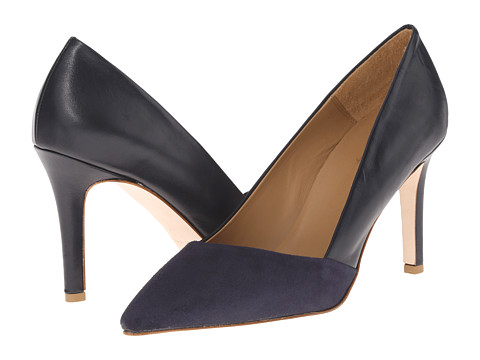 Incaltaminte Femei Massimo Matteo Suede and Leather Pump Blue