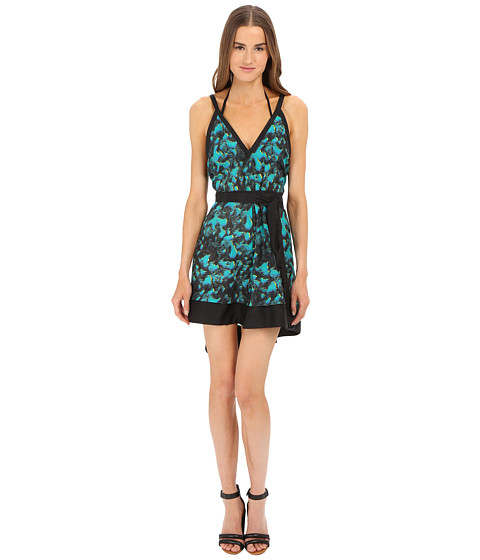 Imbracaminte Femei Proenza Schouler Peacock Belted Sundress Cover-Up Turquoise