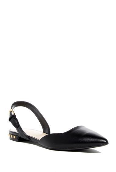 Incaltaminte Femei Nine West Althoff Slingback Flat BLACKSY SY