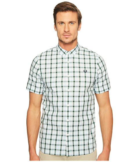 Imbracaminte Barbati Fred Perry Three - Colour Gingham Shirt Glacier
