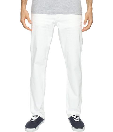 Imbracaminte Barbati Calvin Klein Slim Straight Jeans in White Wash White Wash