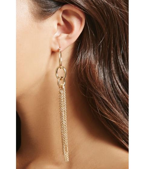 Bijuterii Femei Forever21 Detaching Tassel Duster Earrings Gold