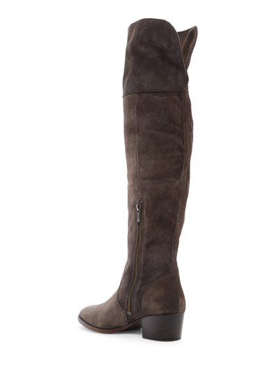 Incaltaminte Femei Frye Clara Tassel Over The Knee Boot SMOKE