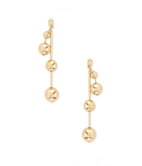 Bijuterii Femei Forever21 Beaded Drop Earrings Gold