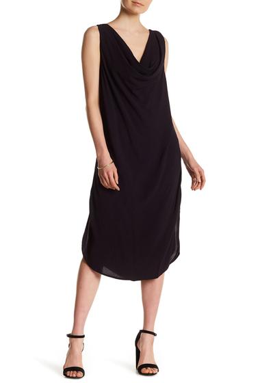 Imbracaminte Femei Michael Stars Cowl Neck Sleeveless Dress DARK IRIS