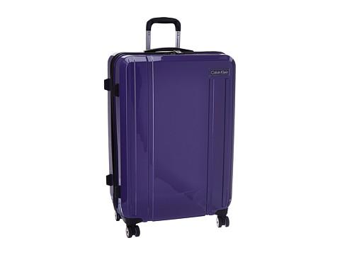 Genti Femei Calvin Klein Beacon 28quot Upright Suitcase Blue