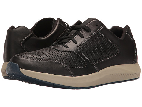 Incaltaminte Barbati Clarks Sirtis Mix Black Leather