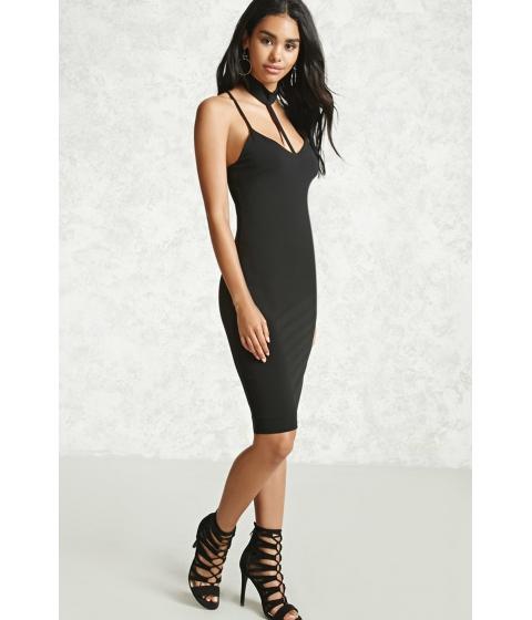 Imbracaminte Femei Forever21 Choker Midi Dress Black