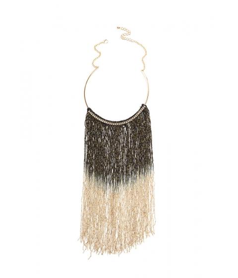 Accesorii Femei CheapChic Good Ombre Fringe Collar Necklace Goldblack