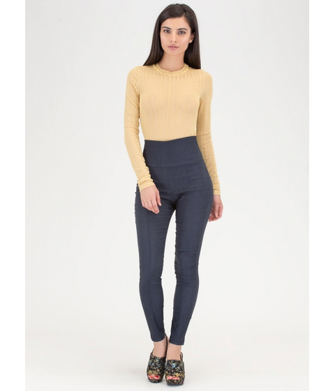 Imbracaminte Femei CheapChic Count Us In Tapered Skinny Pants Denim