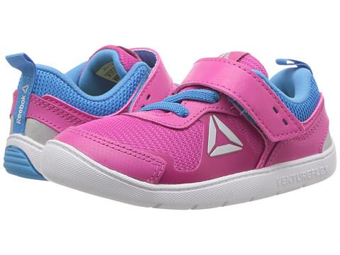 Incaltaminte Fete Reebok Ventureflex Stride 50 (Toddler) Charged PinkCalifornia BlueWhiteSilver