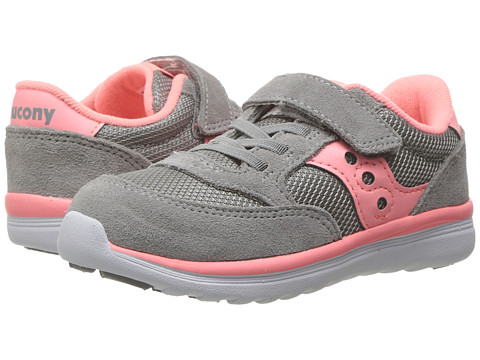 Incaltaminte Fete Saucony Jazz Lite (ToddlerLittle Kid) GreyCoral
