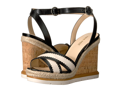 Incaltaminte Femei Nine West Vaughn BlackOff-White Leather