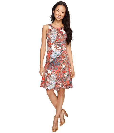 Imbracaminte Femei Karen Kane Paisley Print Flare Dress Print