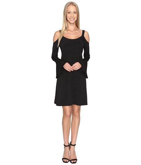 Imbracaminte Femei Karen Kane Cold Shoulder Flare Sleeve Dress Black